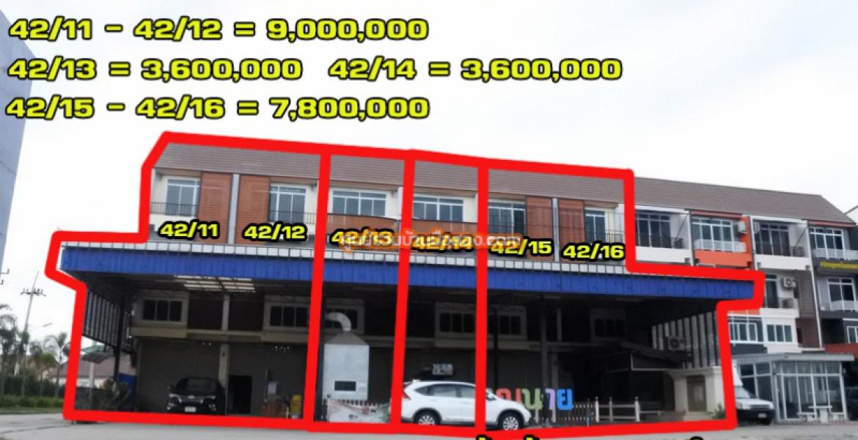 ขายอาคารพาณิชย์ 3.5 ชั้น 6 คูหา  (หน้ากว้าง 4 เมตร ลึก 20 เมตร) โครงการบีเคลัคกี้โฮม 1